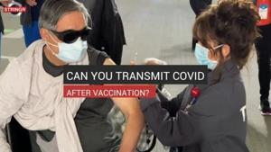 Watch Now: Can you transmit COVID after vaccination?