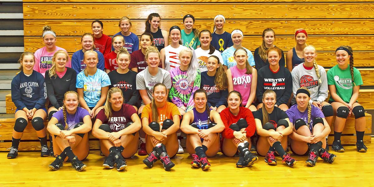 Westby Norse Volleyball Team