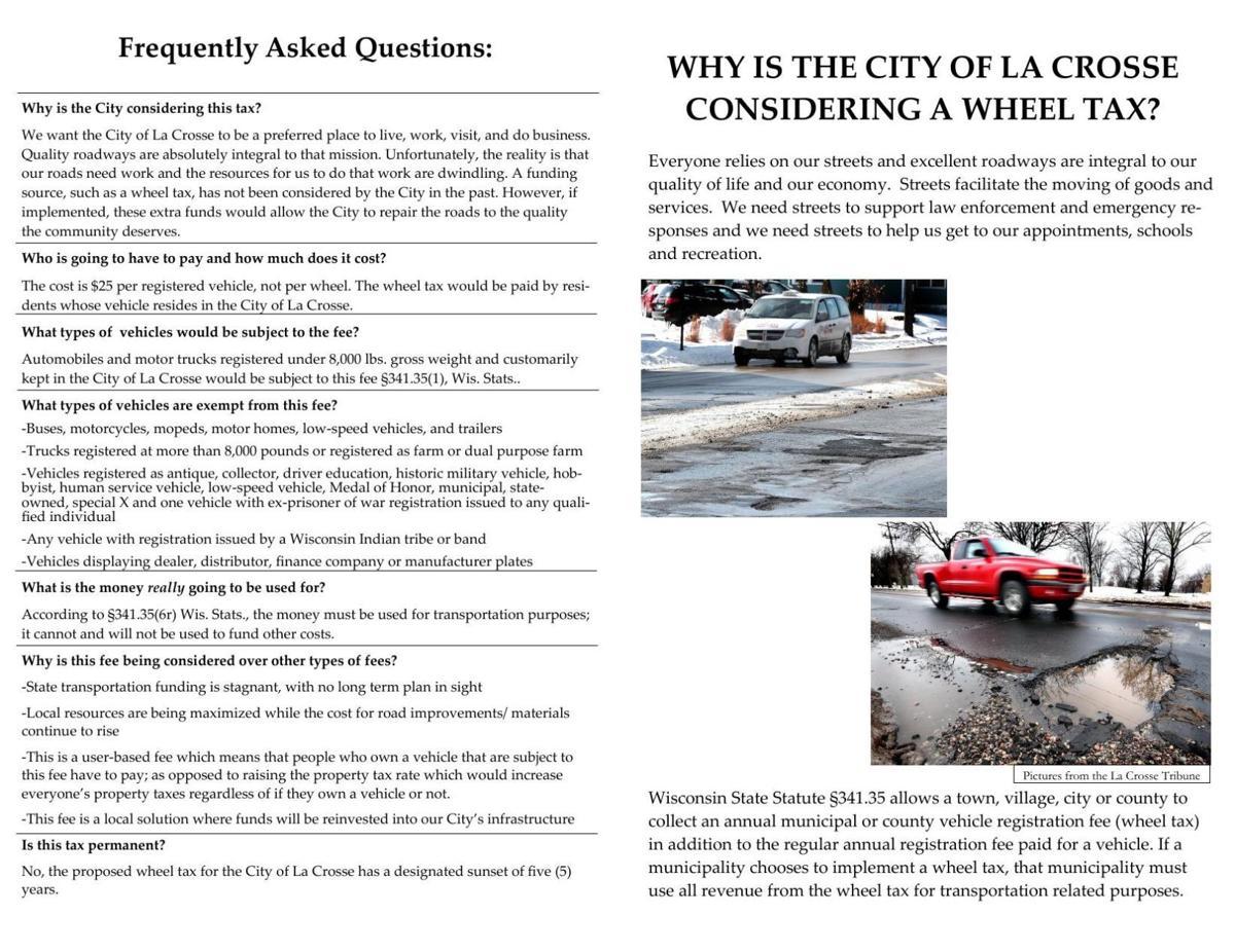PDF: La Crosse wheel tax proposal | | lacrossetribune com