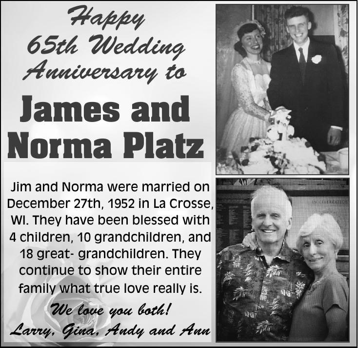 James and Norma Platz