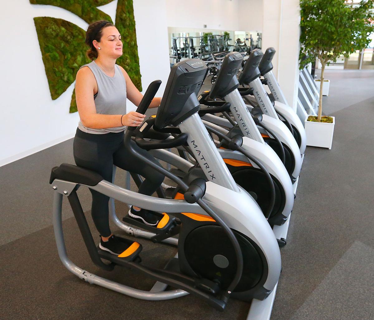 Riverside Corporate Wellness elliptical