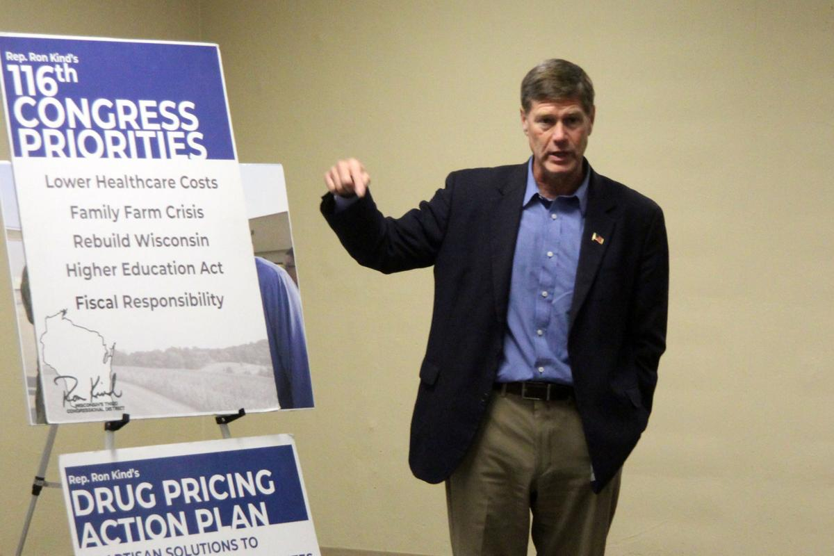 Rep. Kind listening session in Dunn County