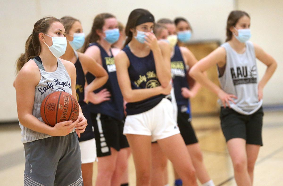Aquinas Girls Basketball-First Day of Practice
