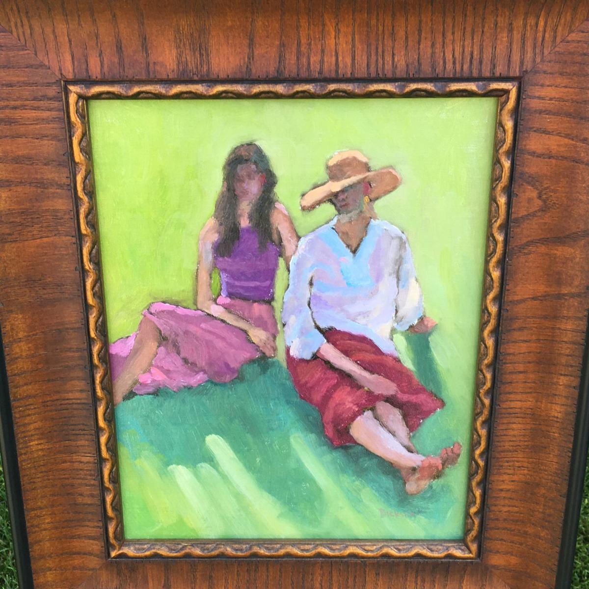 Winning painting by Jeff Dickson