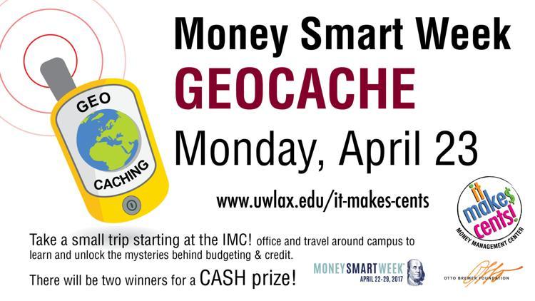 Geocache for College Cash