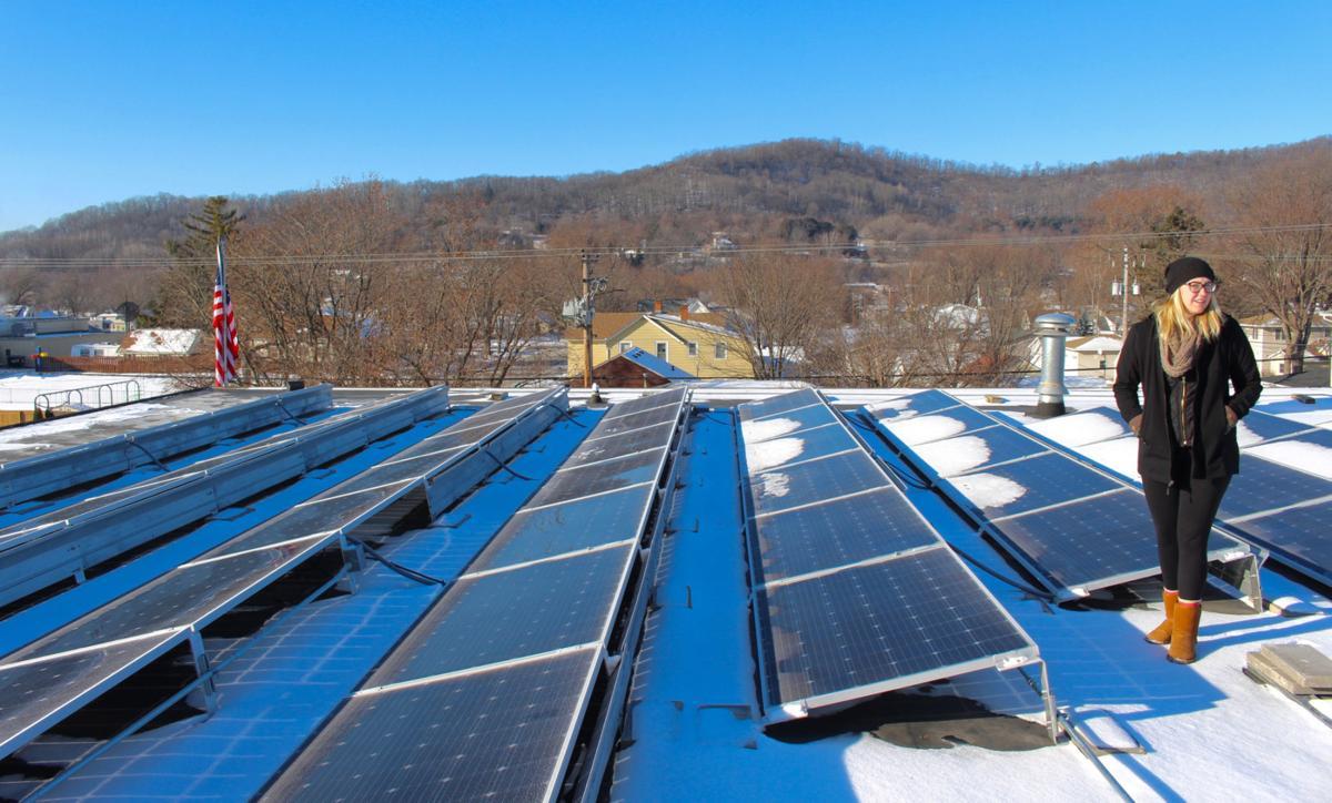 Erin Heiting solar panels