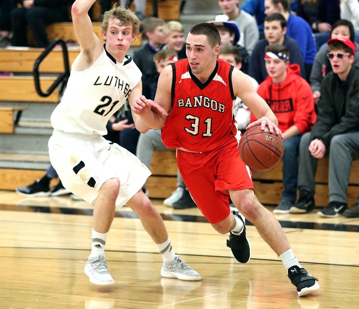 Bangor Luther basketball