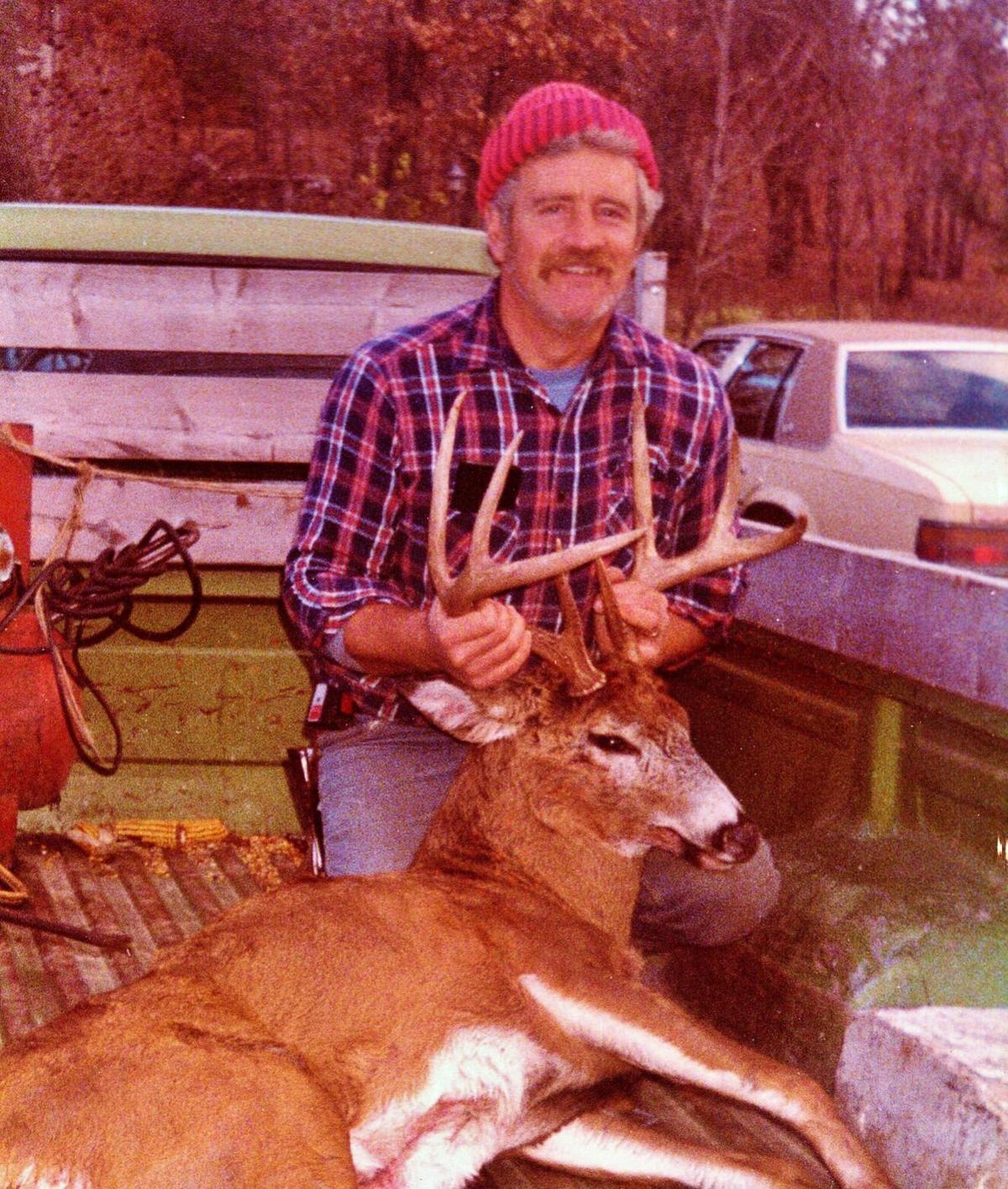 Bob Hardie with buck