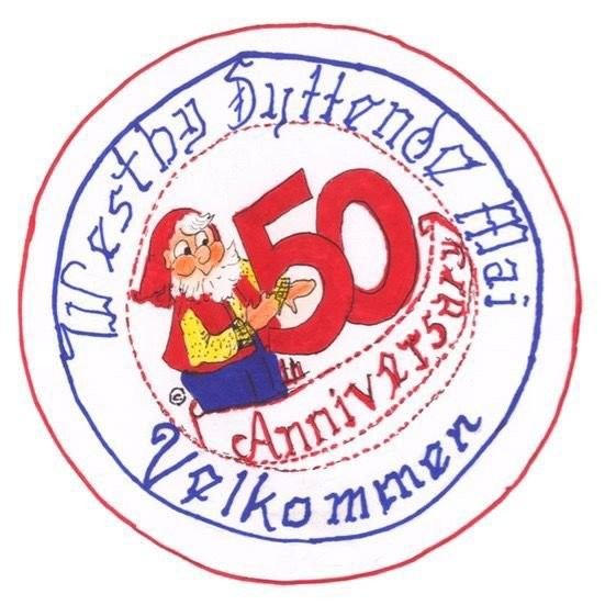 Westby Syttende Mai 50th button