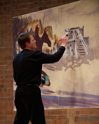 Spirituality center welcomes artist, pastor