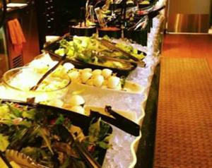 4 Sisters Wine Bar and Tapas in Downtown La Crosse WI Salad Bar