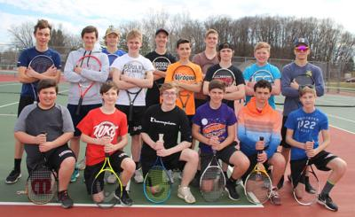 Viroqua High School boys tennis team 2019