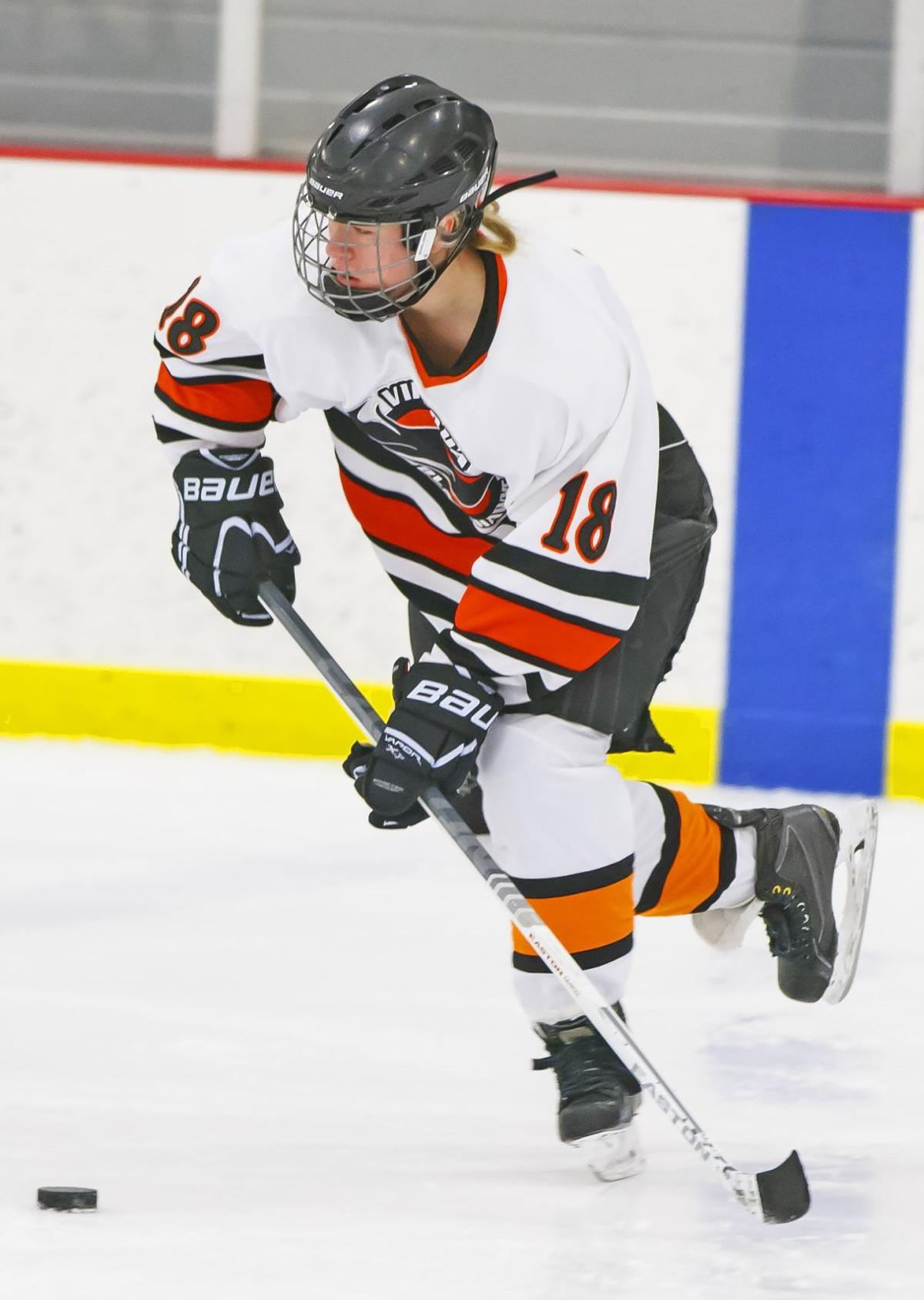 viroqua girls hockey has back to back wins over baraboo lighting