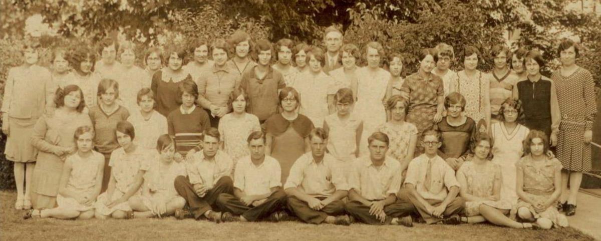 Vernon County Normal School's Class of 1930