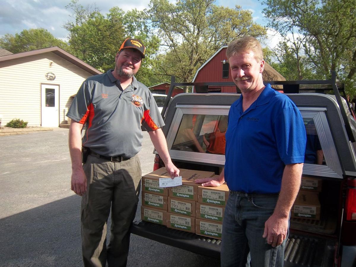 WhiteTails Unlimited makes donation to local schools
