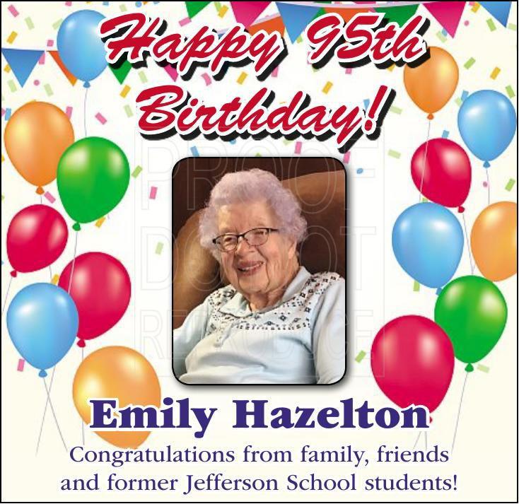Hazelton 95th birthday