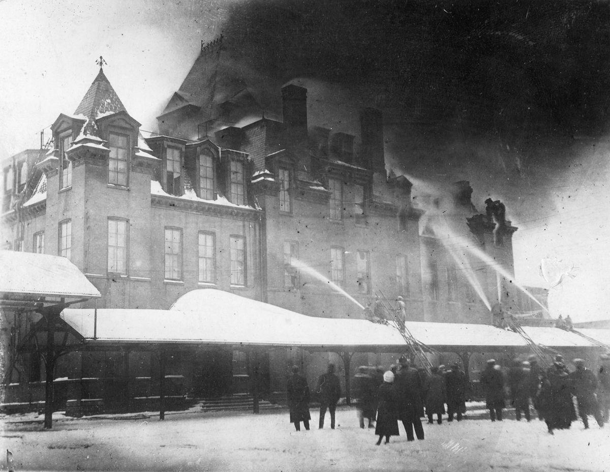 THE WAY IT WAS: 1916 Cameron House Fire