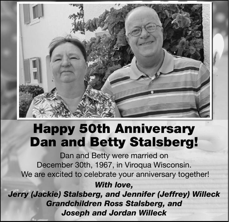 Dan and Betty Stalsberg