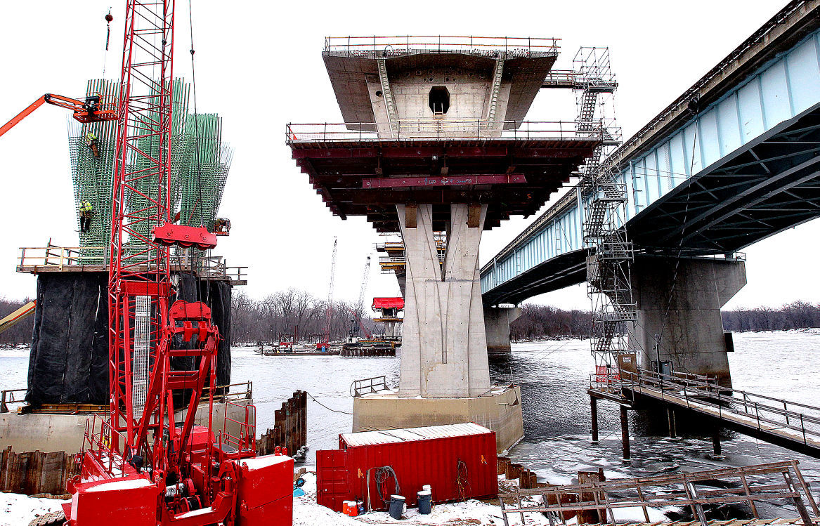 Bridge replacement marries handmade high tech local for I 90 construction