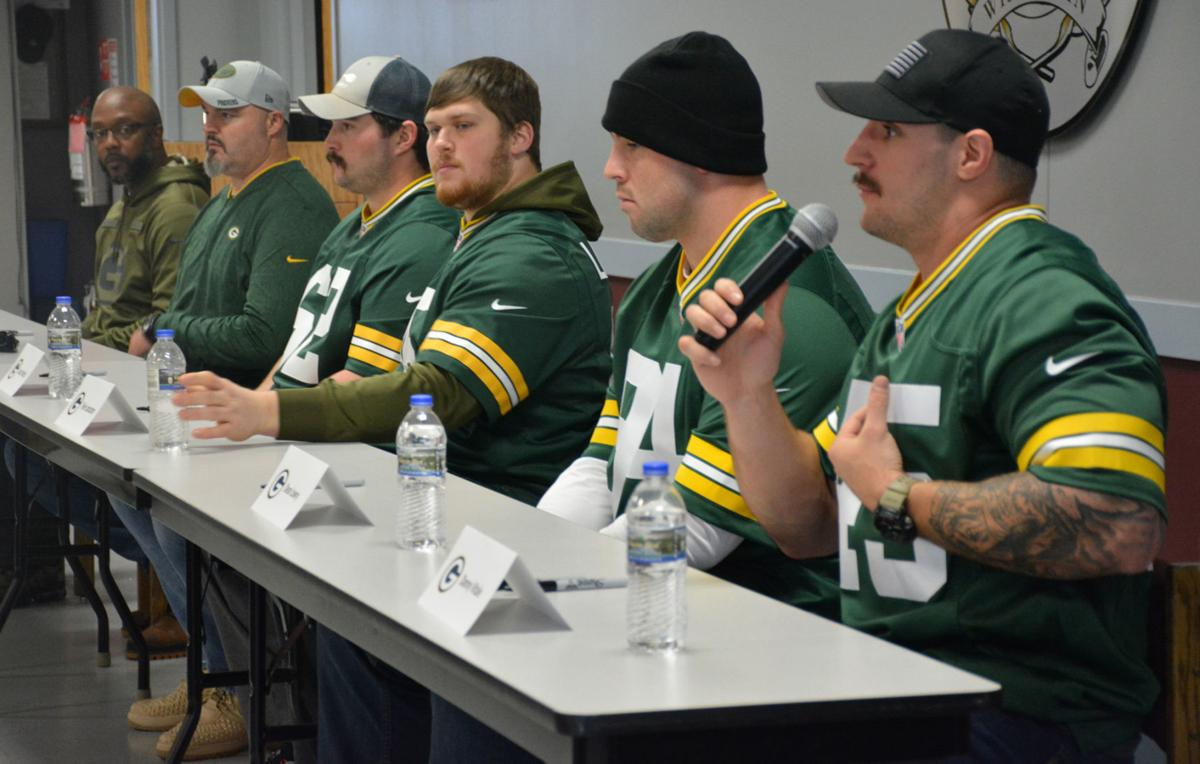 Q&A session with the Packers