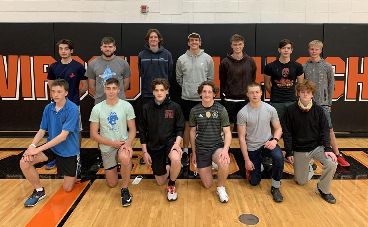 Viroqua High School boys track team 2021