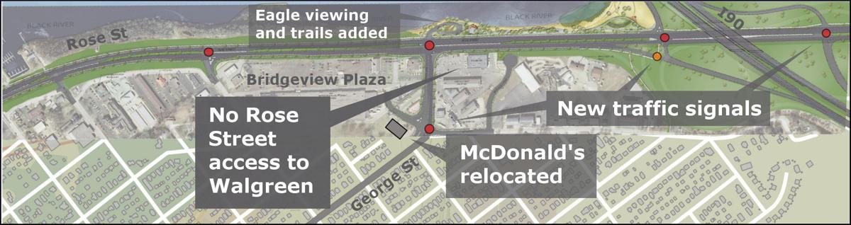 Exit 3 redesign map