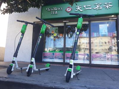 Too Many Scooters on Downtown Streets