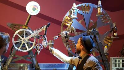 VR Games and Robot Bartenders: Two Bit Circus' Micro-Amusement Park Comes to Town