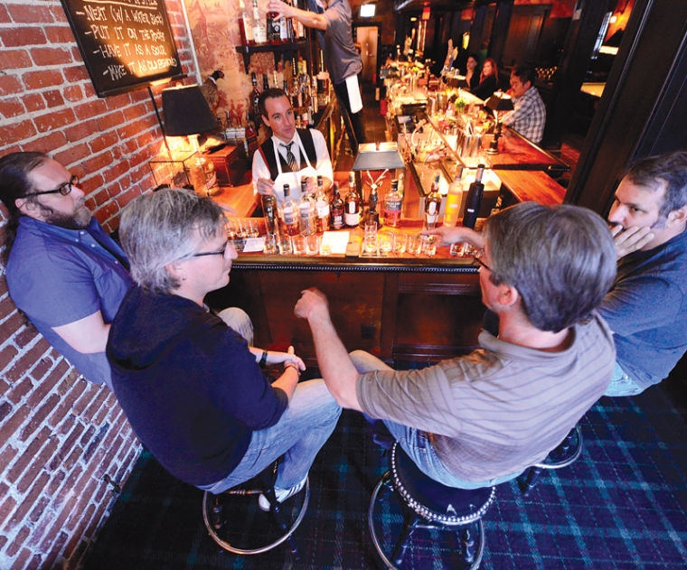 BEST BAR HAPPY HOUR: Seven Grand