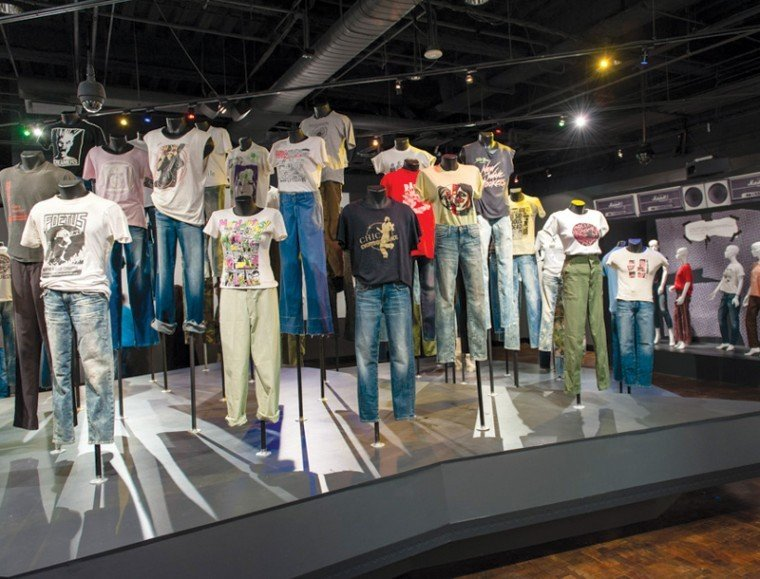 Rock T Shirts In Fashion At Fidm Exhibit Arts And Culture Ladowntownnews Com