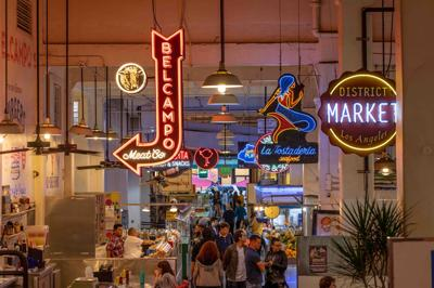 The 30,000-square-foot market
