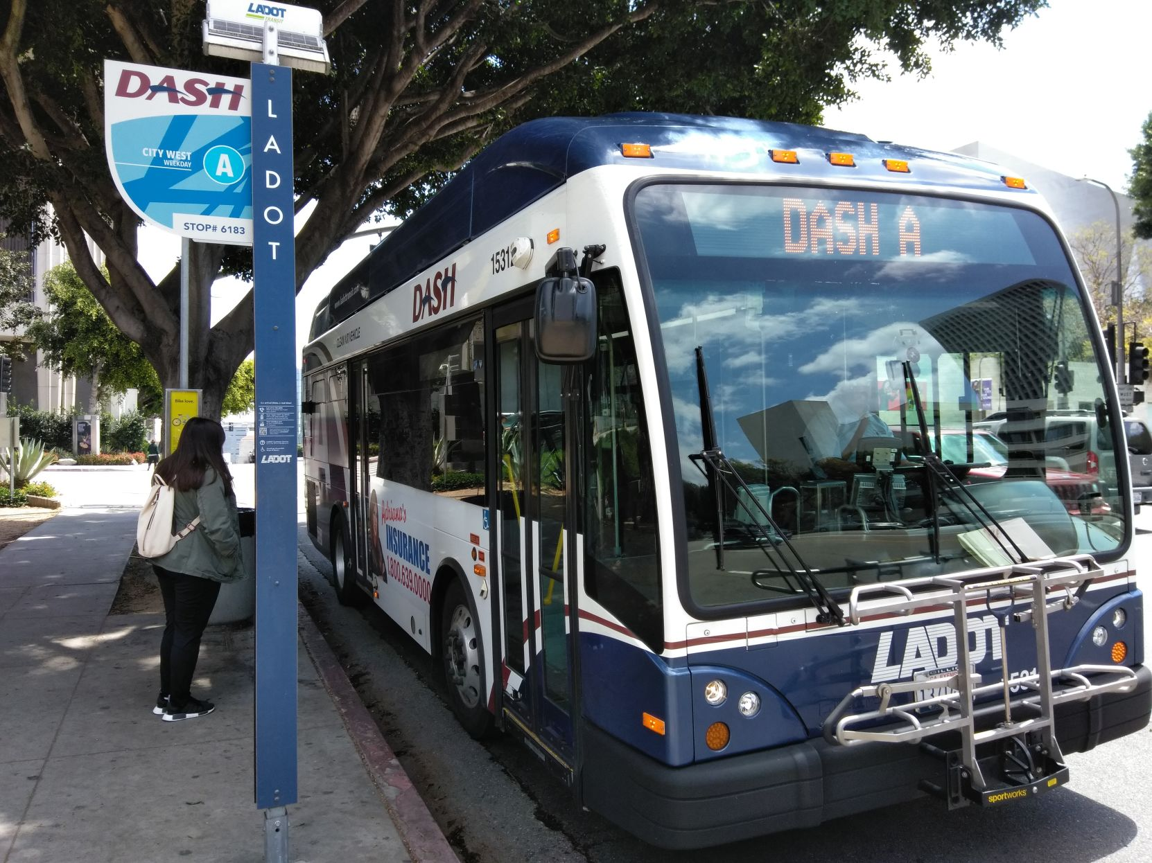 DASH Bus Service in Arts District to Expand | Los Angeles Downtown News