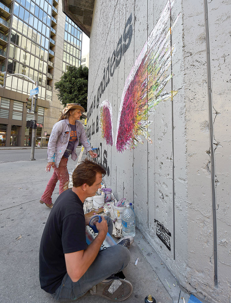 In Downtown, Street Artists Find a Surprising New Patron: Developers