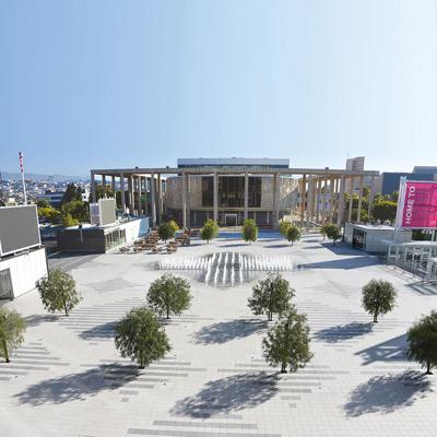 The Music Center Plaza Goes Modern
