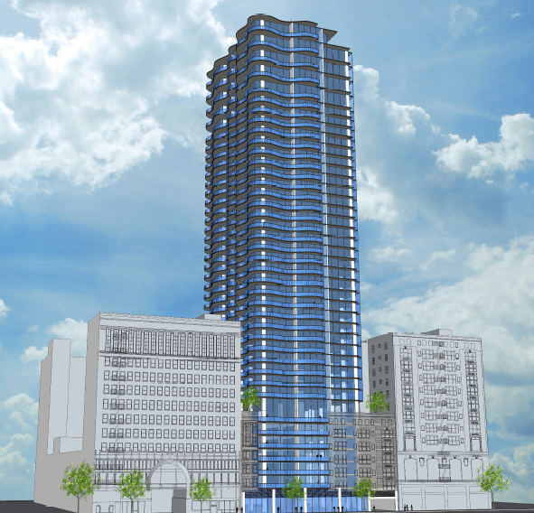Veteran Developer Planning 40 Story Tower For Historic