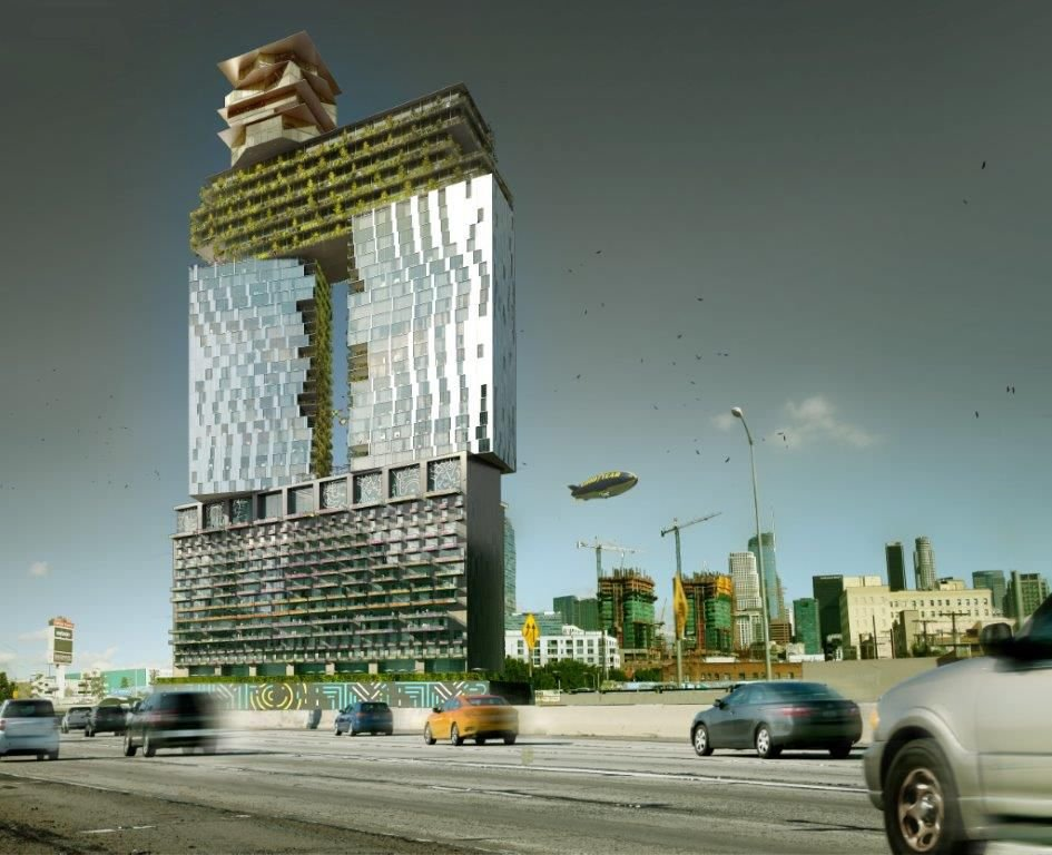 52-Story Mixed-Use Tower Proposed for Figueroa Street
