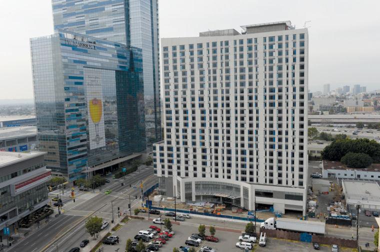 Downtown S Double Marriott Hotels To Open In June News