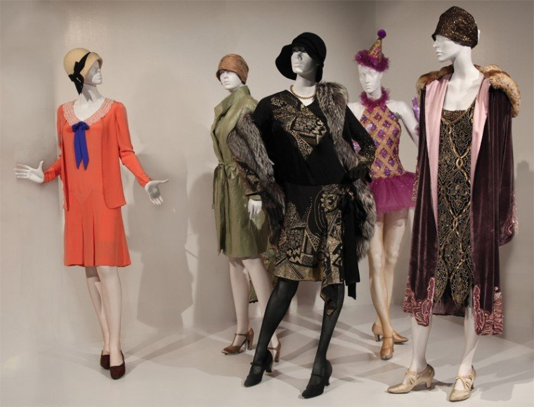clothes make the mannequin at fidm exhibition arts and
