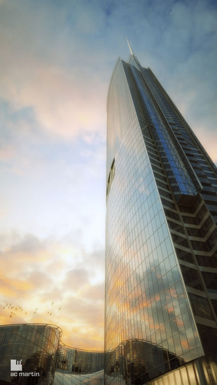New Wilshire Grand Design Revealed News Ladowntownnews Com