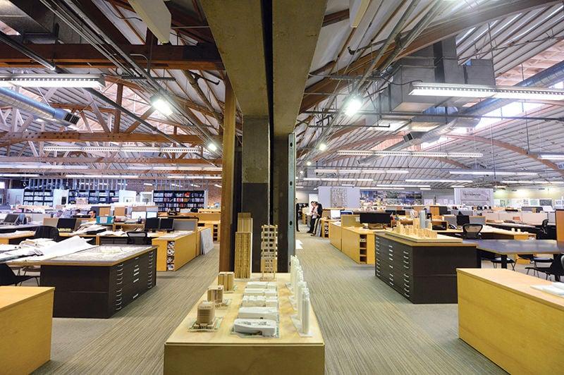 Downtown's Coolest Offices: Inside Johnson Fain