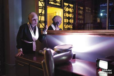 Days of Future Past with a New Downtown Cyberpunk Pop-Up Bar