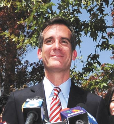 The 10 Most Interesting Moments of Eric Garcetti's First 50 Days