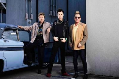 Brian Setzer, Slim Jim Phantom and Lee Rocker