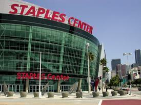 The Staples Center Score