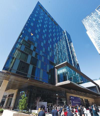 Two Buildings in Metropolis Hit the Market