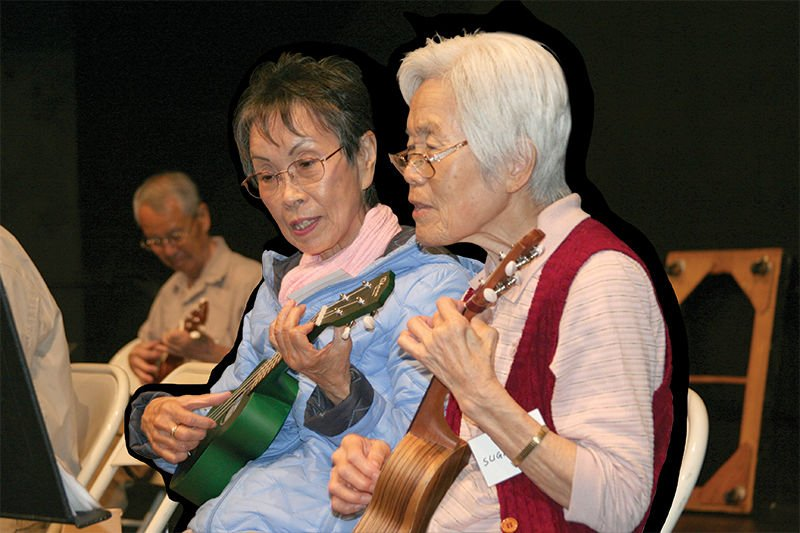 Building Bridges Through Ukuleles
