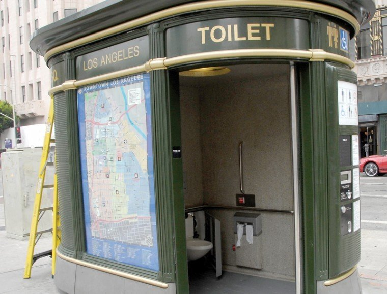 Public Toilets Vandalized Closed News Ladowntownnews Com