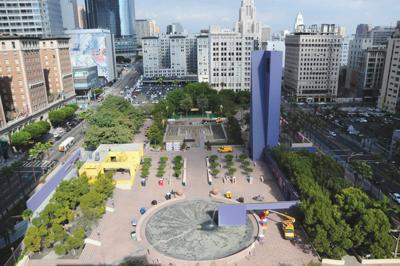 Four Finalists in Pershing Square Redesign Competition