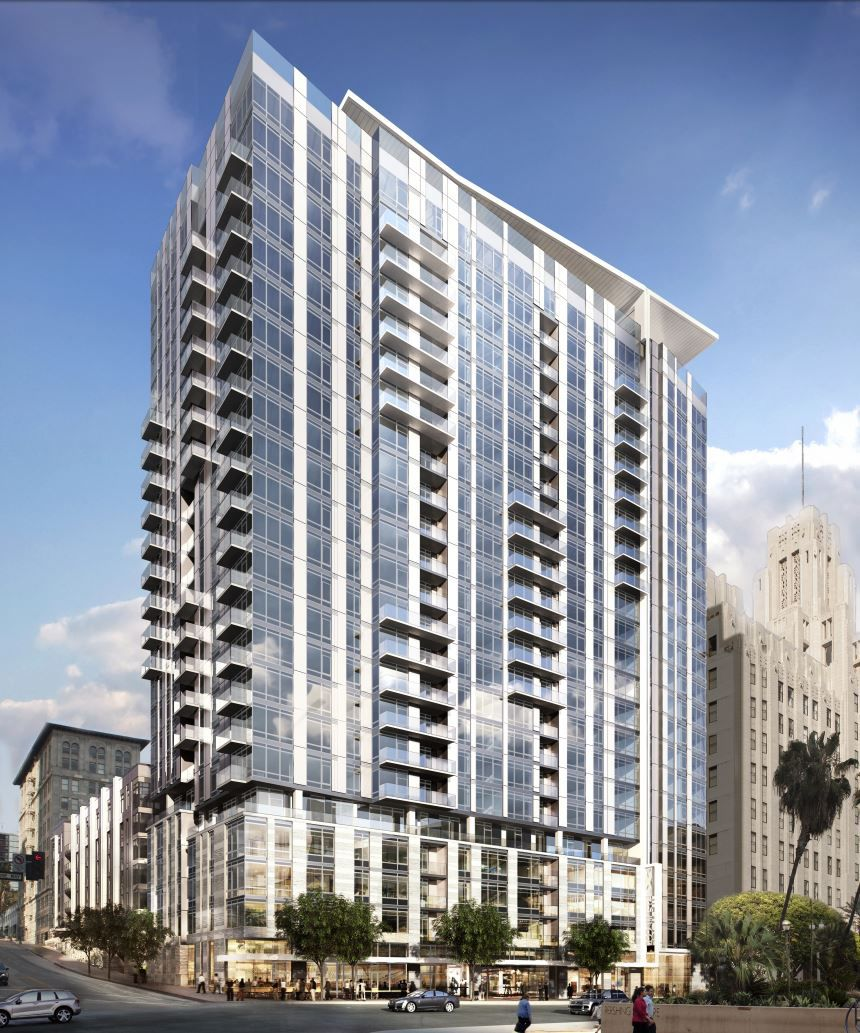 Apartment Locator Los Angeles: Groundbreaking Near For Park Fifth Tower