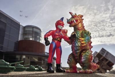 Kaiju vs. Heroes